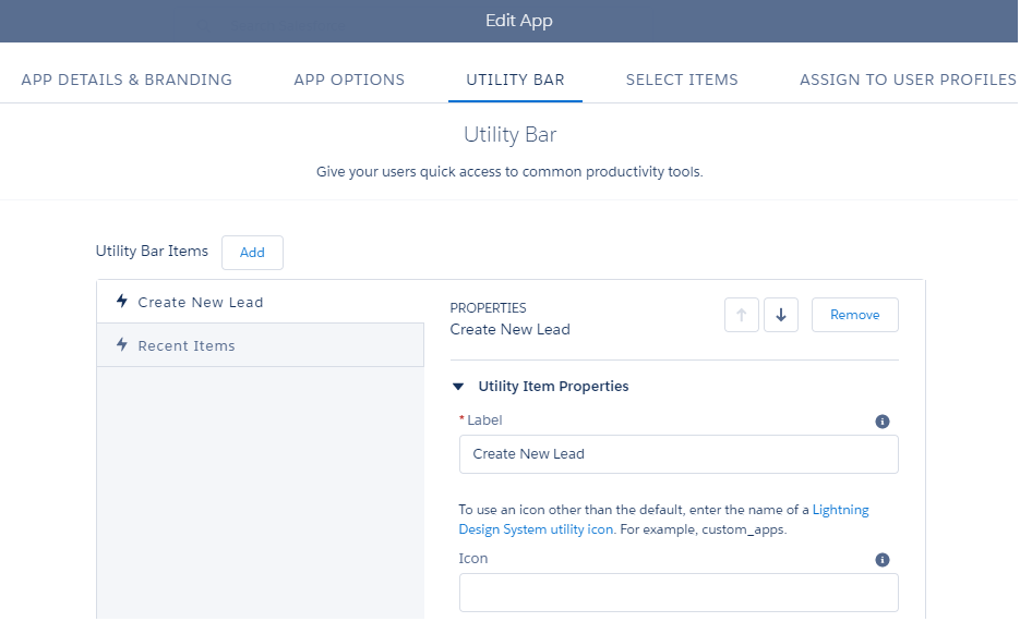 Increase Your Lightning Apps with the Utility Bar