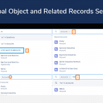Global Object and Related Records Search